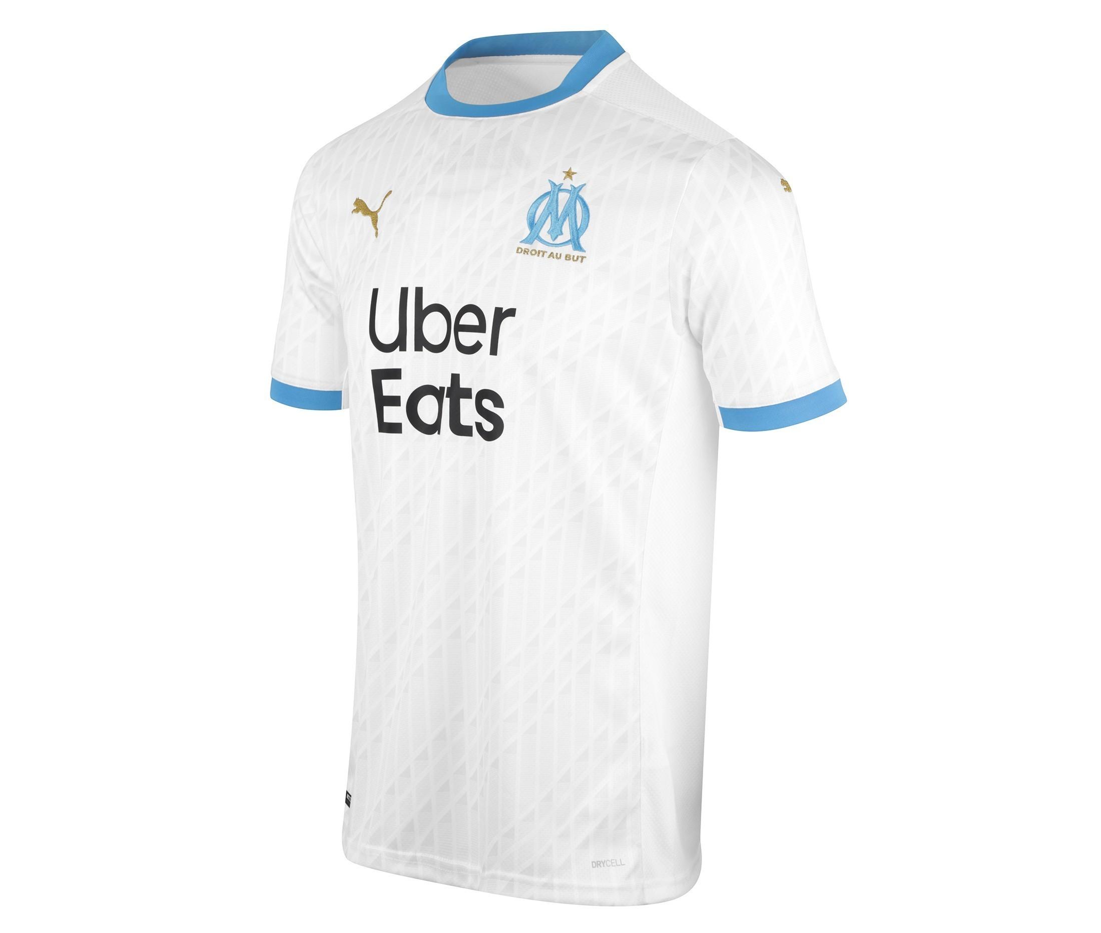 OLYMPIQUE DE MARSEILLE Olympique Marsiglia Shirt Om/ /Collezione Ufficiale Taglia Uomo