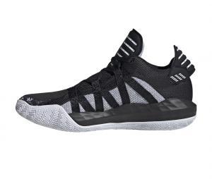 adidas Dame 6 Noir/Blanc