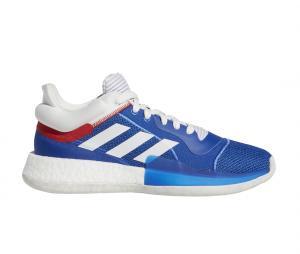 adidas Marquee Boost Low Bleu/Blanc