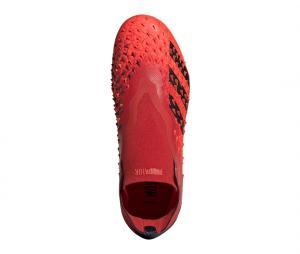 adidas Predator Freak + FG Rouge Junior