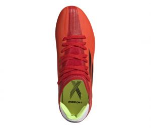 adidas X Speedflow 3 FG Rouge Junior