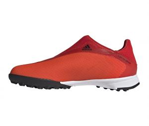 adidas X Speedflow 3 Laceless TF Rouge Junior
