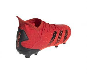 adidas Predator Freak 3 FG Rouge Junior