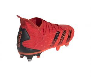 adidas Predator Freak 3 SG Rouge Junior