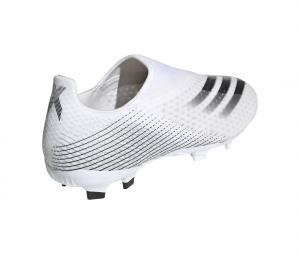 adidas X Ghosted.3 Laceless FG Blanc