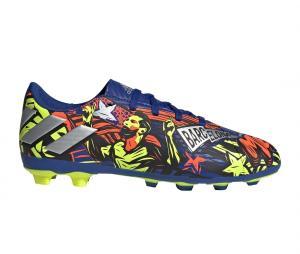 adidas Nemeziz Messi 19.4 MG Bleu Junior
