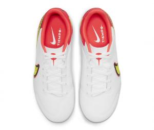 Nike Tiempo Legend VIII Academy MG Blanc/Rouge Junior