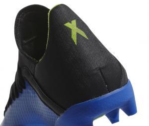 adidas X 18.3 FG Bleu/Noir Junior