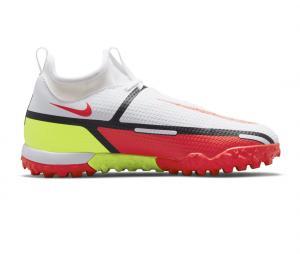 Nike Phantom GT2 Academy DF TF Blanc Junior