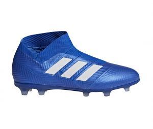 adidas Nemeziz 18+ FG Bleu Junior