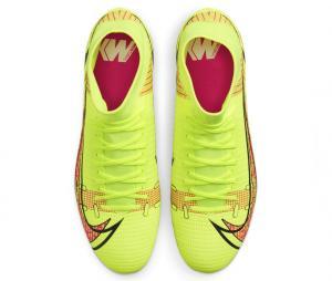 Nike Mercurial Superfly VIII Academy DF SG-PRO Anti-Clog Jaune