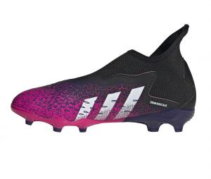 adidas X Ghosted 3 Laceless FG  Noir/Rose Junior