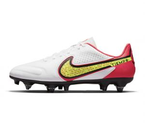 Nike Tiempo LegendIX Academy SG-PRO Anti-Clog Blanc/Rouge