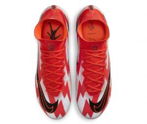 Nike Mercurial Superfly VIII Elite CR7 DF FG Blanc/Rouge