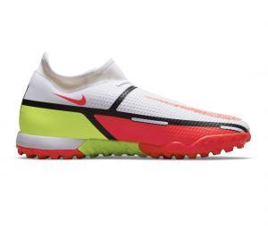 Nike Phantom GT2 Academy DF TF Blanc