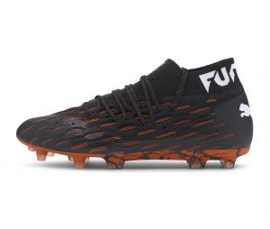 Puma Future 6.1 Netfit FG/AG Noir/Orange
