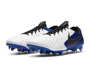 Nike Tiempo Legend VIII Elite FG Blanc/Bleu