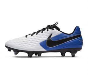 Nike Tiempo Legend VIII Academy SG-Pro Anti-Clog Blanc/Bleu