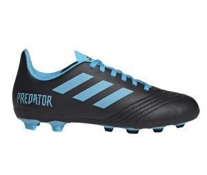 adidas Predator 19.4 FxG Noir/Bleu Junior