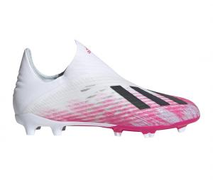 adidas X 19+ FG Blanc/Rose Junior