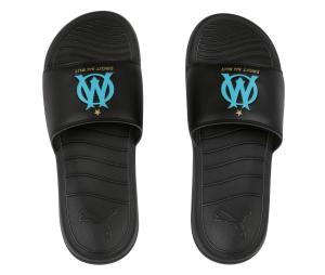 OM Puma Sandals Black