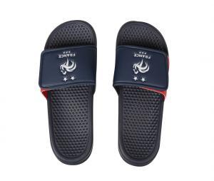 Sandales France Fan Bleu