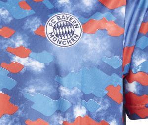 Maillot Pré-Match Bayern Munich Bleu/Rouge Junior