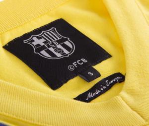 Maillot Vintage Barça Extérieur 1978/79 Jaune