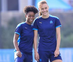 OM Training Woman's Football Top Blue