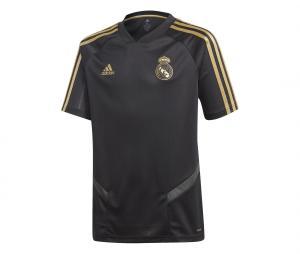 Maillot Entraînement Real Madrid Noir Junior