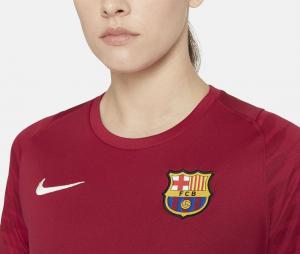 Maillot Entraînement Barça Strike Rouge Femme