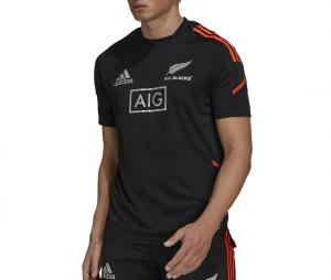 T-shirt All Blacks Rugby Performance Noir