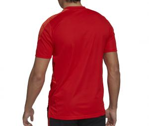 T-shirt All Blacks Rugby Performance Rouge