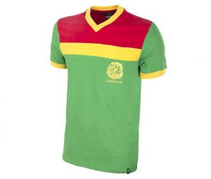 Maillot Vintage Cameroun 1989 Vert/Rouge/Jaune