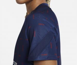 Maillot Pré-Match Jordan x PSG Strike Bleu Femme