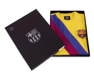 Maillot Vintage FC Barcelone 1974/75 Jaune