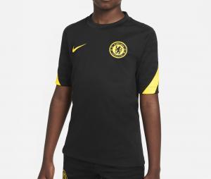 Maillot Entraînement Chelsea Strike Noir Junior