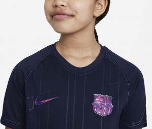 Maillot Pré-Match Barça Bleu Junior