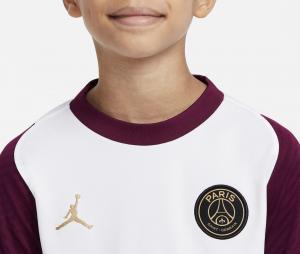 Maillot Entraînement Jordan x PSG Strike Blanc/Violet Junior
