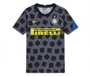 Maillot Pré-Match Inter Milan Gris Junior