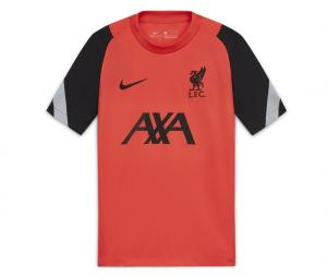 Maillot Entraînement Liverpool Strike Rouge Junior