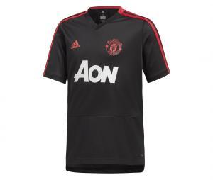 Maillot Entraînement Manchester United Noir Junior
