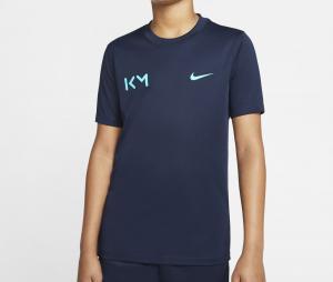 Maillot Entraînement Nike Kylian Mbappé Bleu Junior