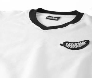 Maillot Vintage Copa Classic Nouvelle Zélande 1982 Blanc