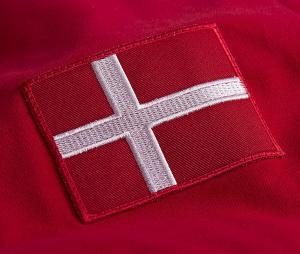 Maillot Vintage Copa Classic Danemark 1970 Rouge