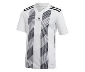 Maillot adidas Striped 19 Blanc Junior