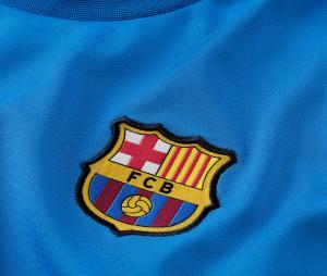 Maillot Entraînement Barça Strike Bleu