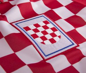 Maillot Vintage Croatie 1992 Rouge/Blanc