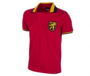 Maillot Vintage Belgique 1960 Rouge