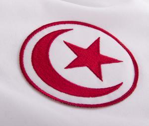 Maillot Vintage Tunisie 1970 Blanc